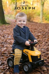 Billy on his JCB