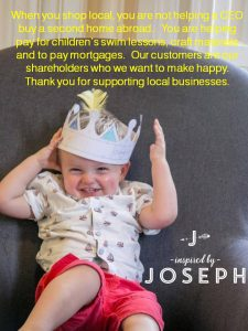 small business saturday inspired by joseph photography