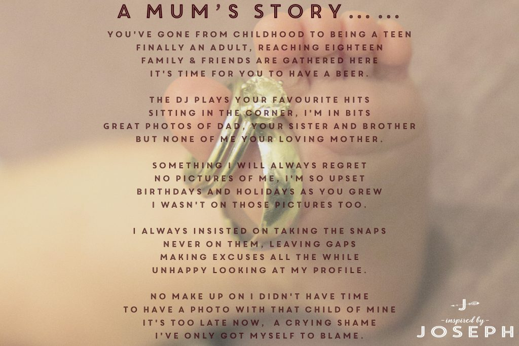 A Mums Story. Take that photo!