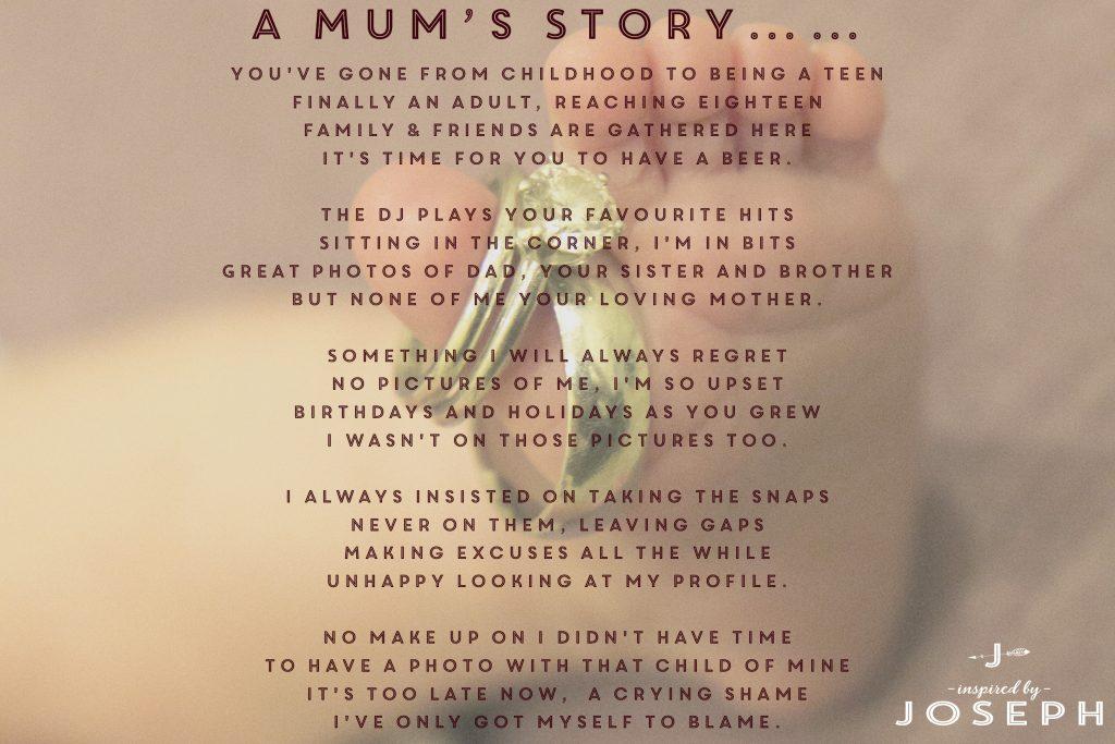 A Mums Story. Take that photo!