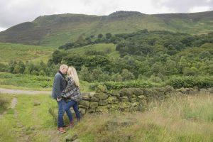 saddleworth tameside engagement photography