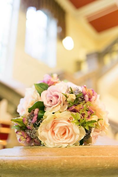 An image of flowers by Inspired By Joseph wedding photographer in Chadderton