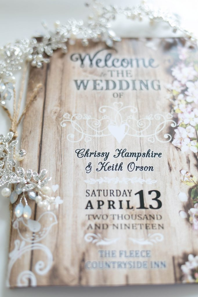 Wedding invite Oldham photographer