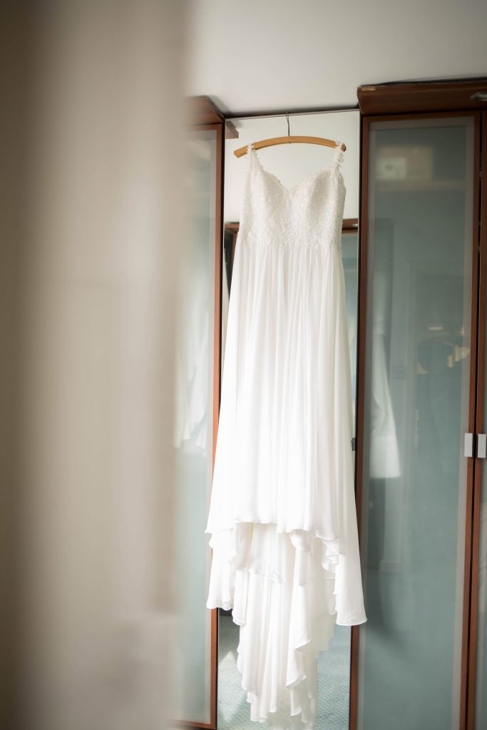 Oldham wedding photographer - wedding dress