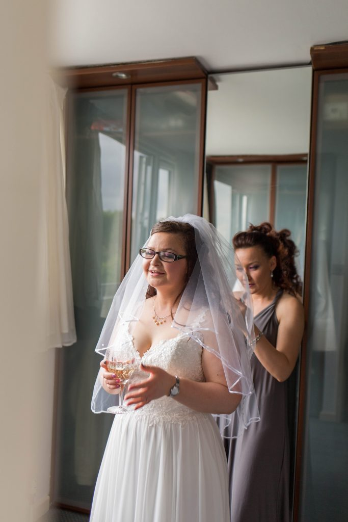 Oldham wedding photographer - bride