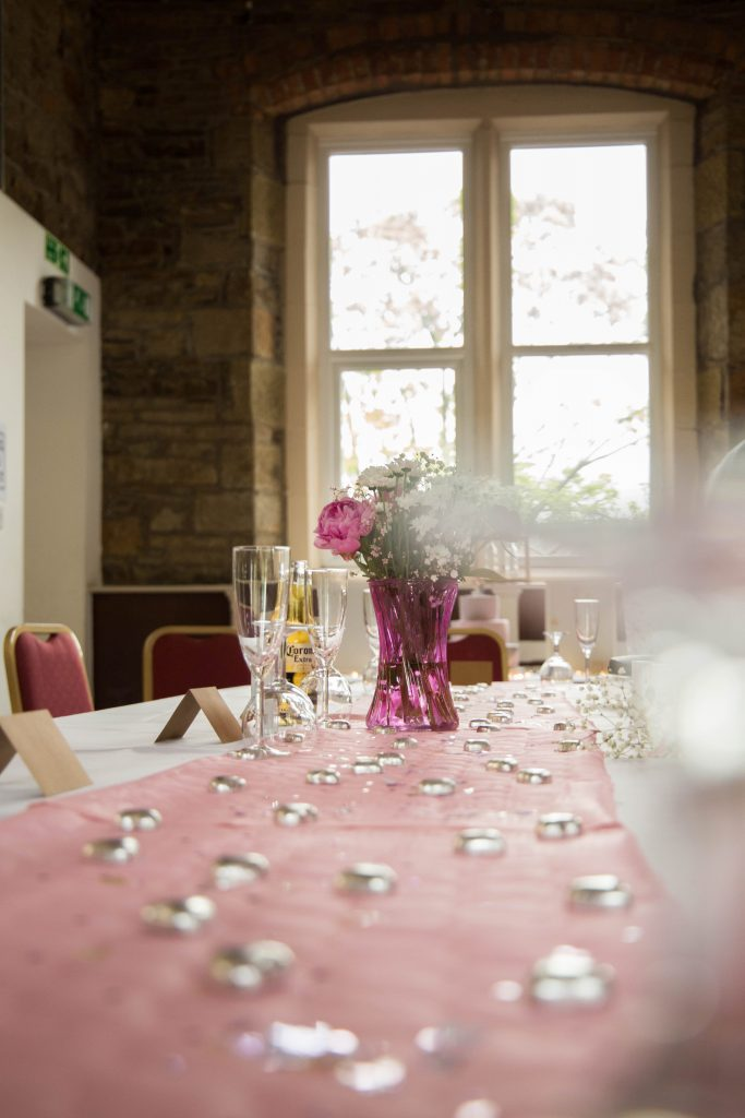 Oldham wedding photographer - wedding top table